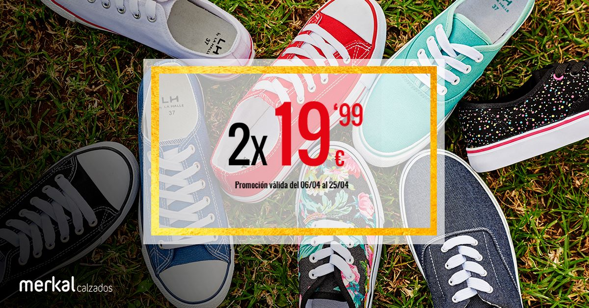 Promoción merkal calzados
