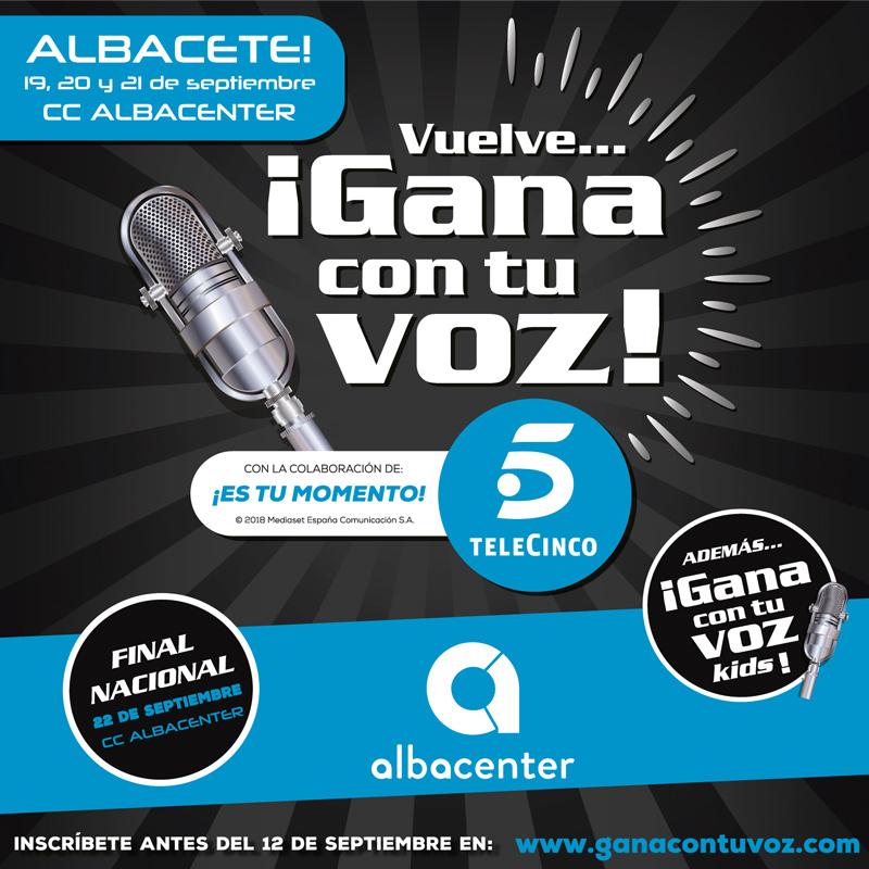 #Óscar y Ainhia Flores consiguen las primeras plazas como semifinalistas de Gana con tu Voz en Albacenter