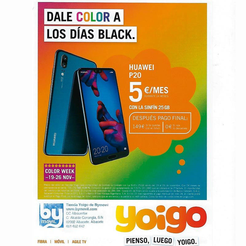 Black Friday | Yoigo