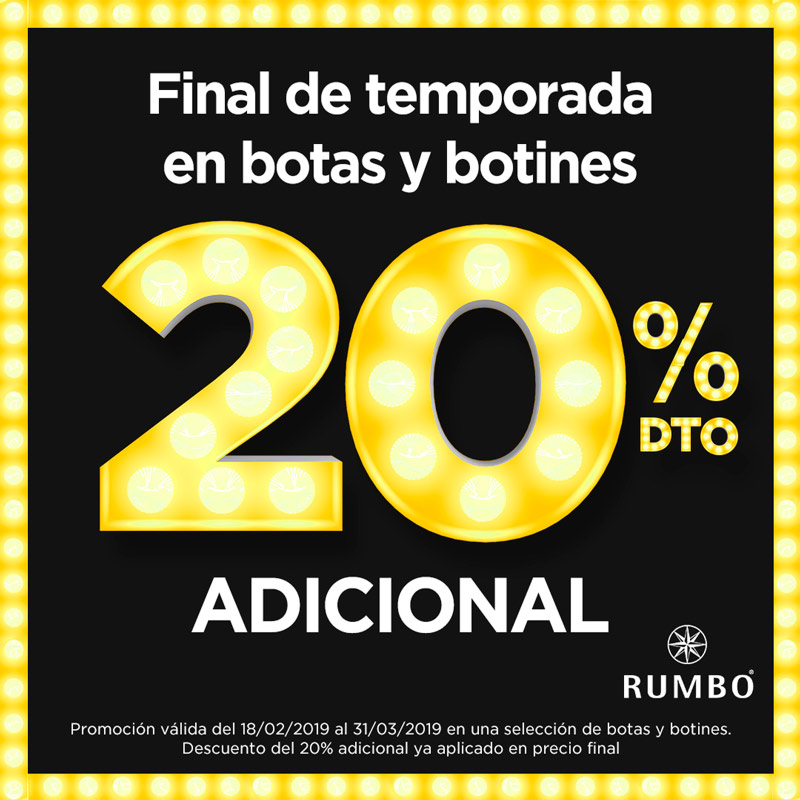 Promociones CALZADOS RUMBO Albacenter