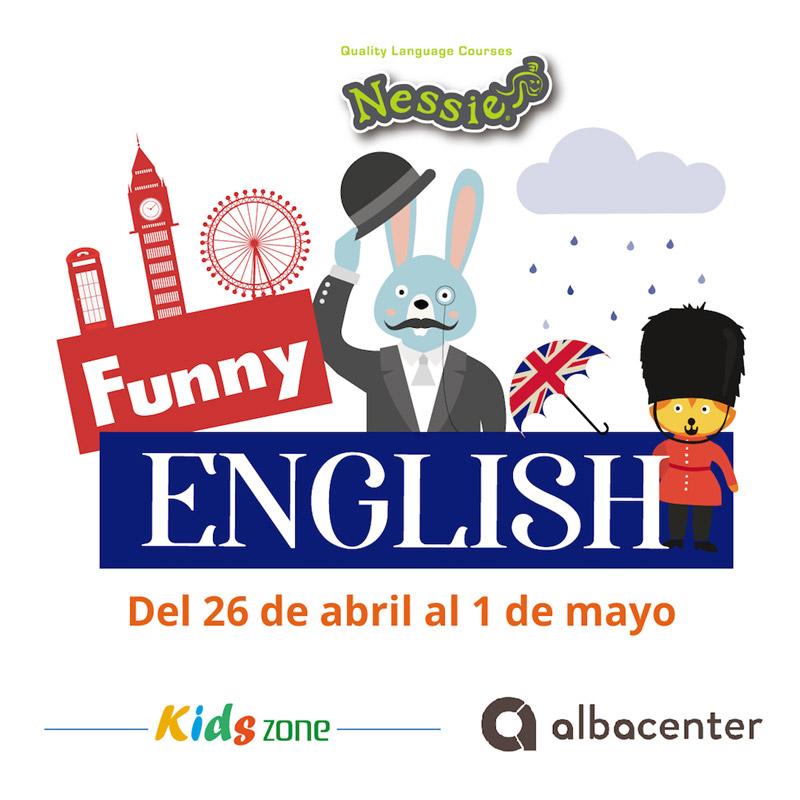 Funny English en la Kids Zone