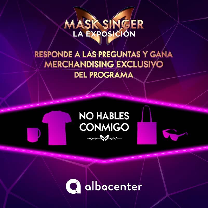 MASK SINGER. SORTEO PACK DE MERCHANDISING