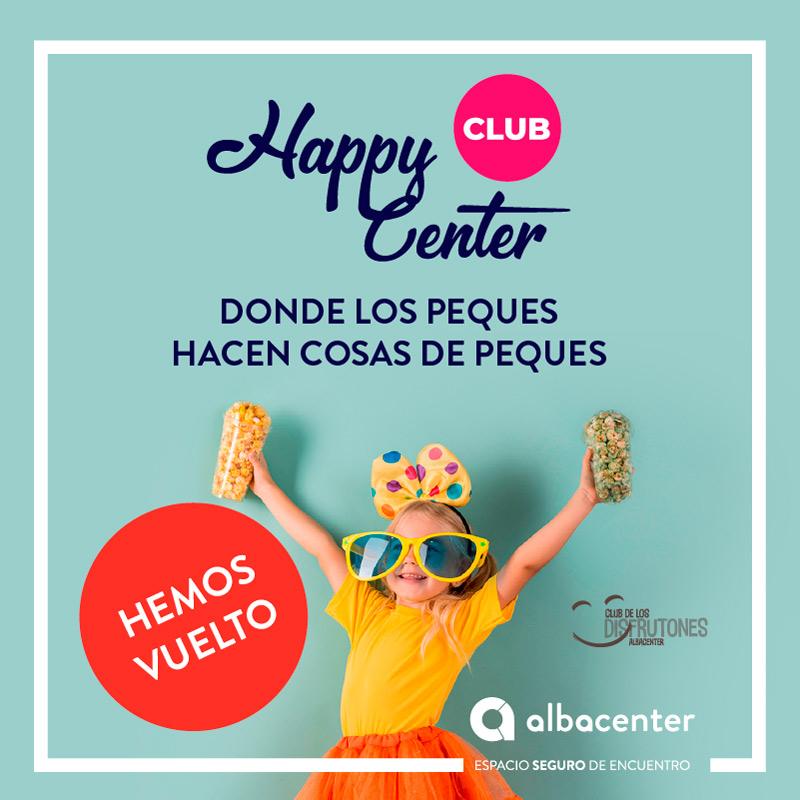 ¡Llega Happy Center Club al C.C. Albacenter!